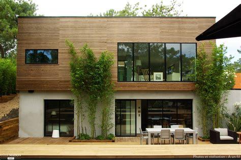 maison bois contemporaine cap ferret cap ferret a un fil architecte d int 233 rieur terrasse