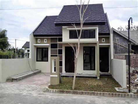 gambar desain rumah sederhana modern berbagai type
