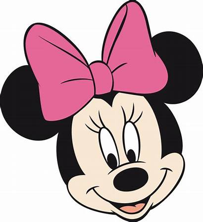 Minnie Mouse Head Clipart Vector Face Pink