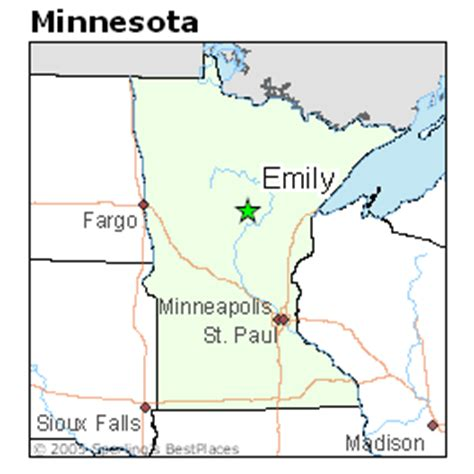 places    emily minnesota