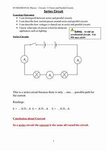 Fun 3 3 Series And Parallel Circuits