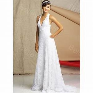 robe longue blanche dentelle With robe longue dentelle blanche