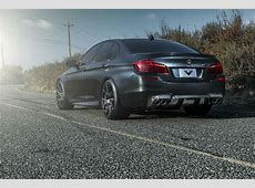 2014 BMW M5 by Vorsteiner rear photo, Singapore Gray