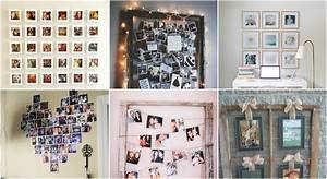 Wandgestaltung Mit Fotos : 40 kreative ideen f r wandgestaltung mit fotos ~ Frokenaadalensverden.com Haus und Dekorationen