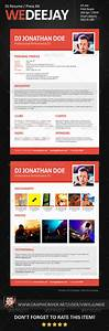 dj press kit template free - wedeejay dj resume press kit graphicriver