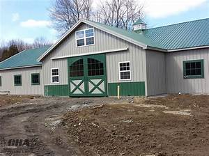 Custom pole barn building options interior exterior for Cupola with windows