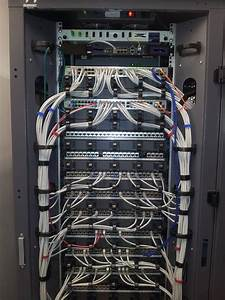 Connecting 48 Port Network Switches To Patch Panels  Dlink