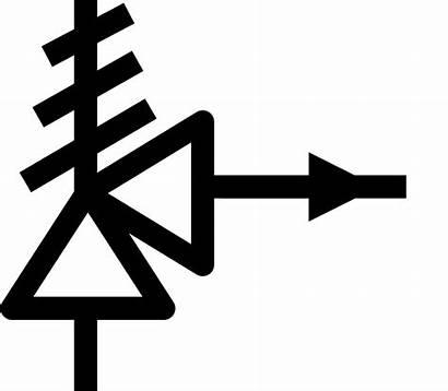 Valve Symbol Relief Symbols Safety Control Flow