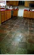 Delectable White Kitchen Cabinets Slate Floor Gallery Slate Floors Kitchen Floor Tile Black Slate Kitchen Floor Tiles White
