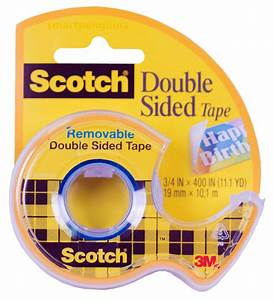 Scotch Double Face : 3m scotch double sided tape 3 4 wide photo safe 667 ~ Melissatoandfro.com Idées de Décoration