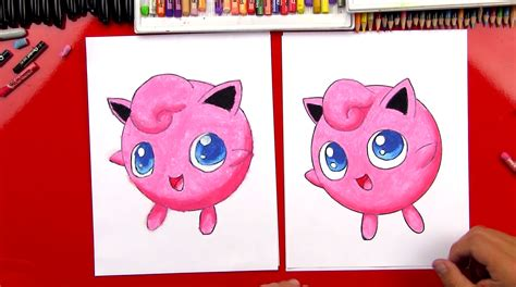 draw jigglypuff art  kids hub