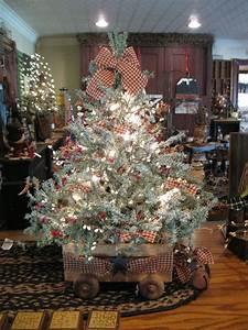 Country, Christmas, Tree