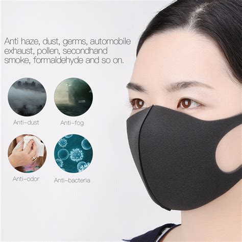 unisex anti dust mouth mask washable mouth face mask