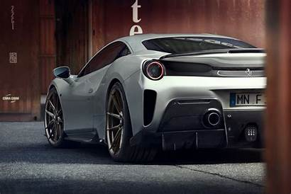 488 Pista Ferrari Novitec Package Rear Hp