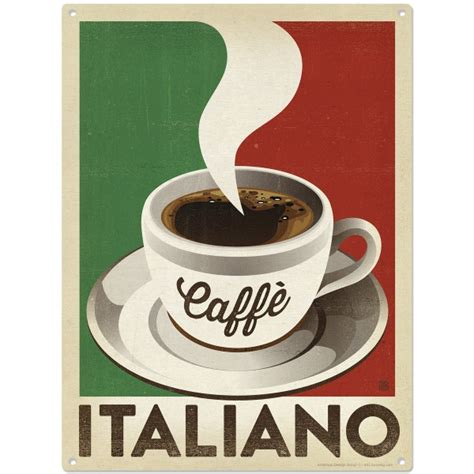 Top italian coffee brands list ☕ (lavazza, illy, caffe vergnano, kimbo and other brands to look for). Caffe Italiano Italian Coffee Metal Sign Cafe Decor Vintage Style 12 x 16 | eBay