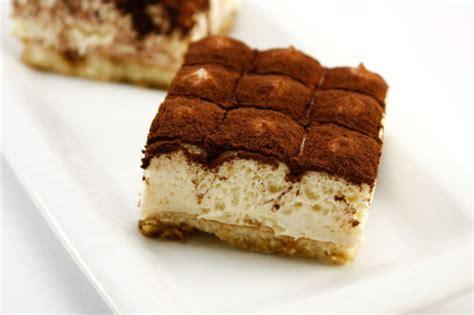desserts a base de mascarpone tiramisu