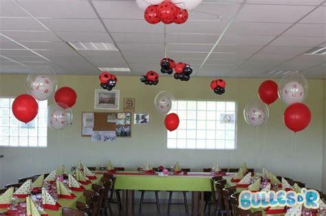 decoration coccinelle pour bapteme bullesdr d 233 coration de bapt 234 me en ballons roppenheim alsace bullesdr