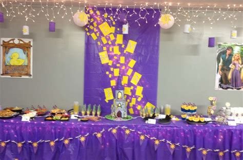 Rapunzel Tangled Birthday Party Ideas Photo 1 Of 37