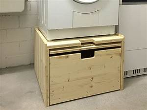 Waschmaschine Abdeckung Holz : waschmaschinenpodest waschmaschinenpodest neu ~ Lizthompson.info Haus und Dekorationen