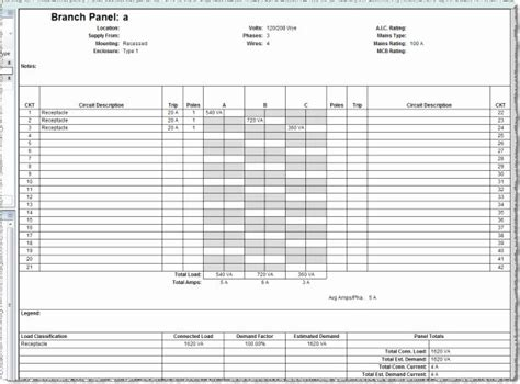 Ca941bb circuit breaker template wiring resources. Electrical Panel Schedule Excel Template Awesome Electrical Panel Schedule Excel Template ...