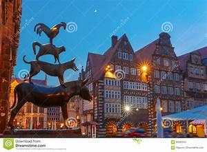 Bild Bremen De : de bremen stadmusikerna i bremen tyskland fotografering f r bildbyr er bild av cityscape ~ Pilothousefishingboats.com Haus und Dekorationen