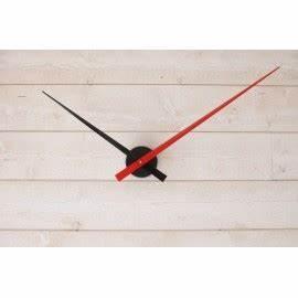 Mecanisme Horloge Geante : horloge g ante minimaliste noire rouge ~ Teatrodelosmanantiales.com Idées de Décoration