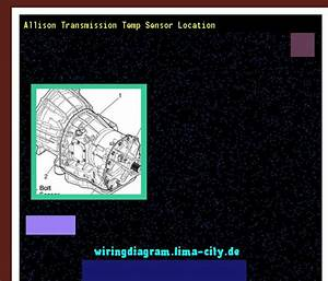 Allison Transmission Temp Sensor Location  Wiring Diagram
