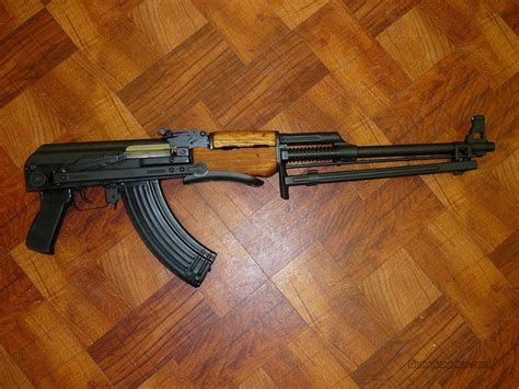 Yugo and romanian or russian rpks are not the same, and require different receivers due to some differences. YUGO RPK UNDERFOLDER 7.62X39 NO DAC SPUD RECEIV... for sale