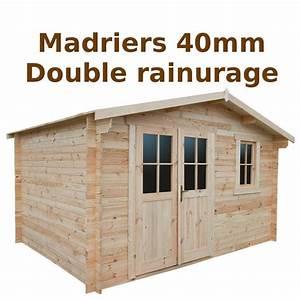 Abri De Jardin Bois 12m2 : abri de jardin 12m en bois 40mm brut gardy shelter ~ Voncanada.com Idées de Décoration