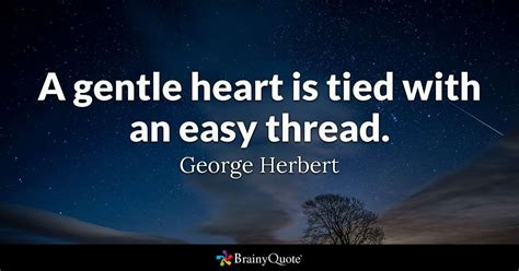gentle heart  tied   easy thread george