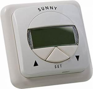 Rolladen Zeitschaltuhr Mit Sonnensensor : zeitschaltuhr f r ihren rollladen mit sensor ~ Michelbontemps.com Haus und Dekorationen