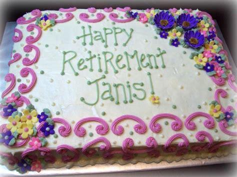 Retirement Cake Decorating Ideas Elitflat
