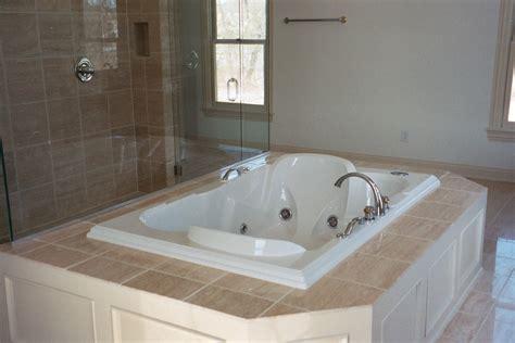 tub decking backsplash picture ideas custom shower and tub deck stone installation