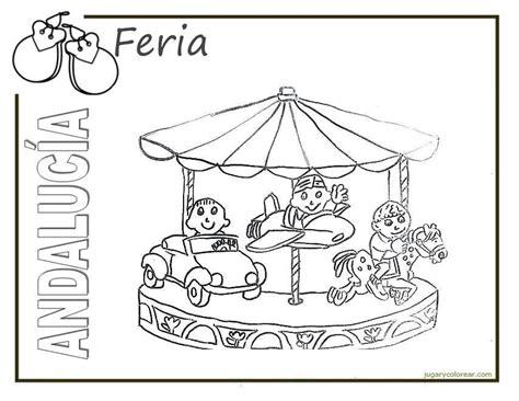Festival furioso de dibujo, rosario (rosario, santa fe). Dibujos del Día de la Comunidad Autónoma de Andalucía para pintar   Colorear imágenes