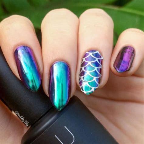 chrome nail designs 18 best chrome nails designs ideas 2017 fabulous