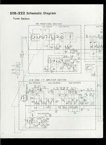Rare Original Factory Sony Str 222 Am Fm Stereo Receiver Schematic Diagram