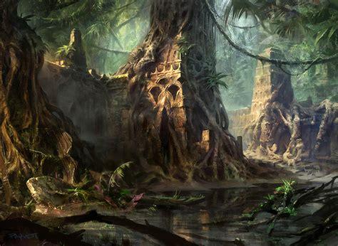 Witcher 3 Landscape Wallpaper Sw Temple By Adampaquette On Deviantart