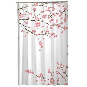 cherry blossom shower curtain kohls walmart rideaux