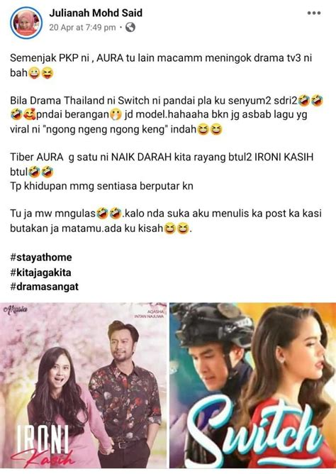 terjebak layan drama thailand switch  pkp penonton tv akui terhibur kisah dunia