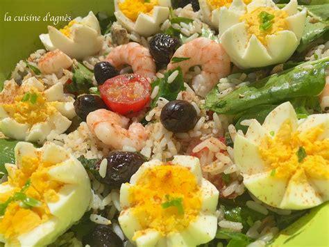 riz cuisiné salade de riz au thon blogs de cuisine