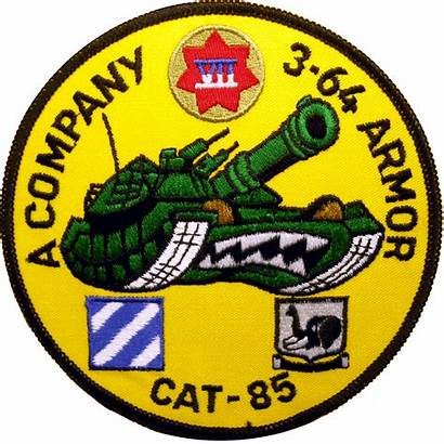 Armor Company Cat Battalion 3rd Patches Military
