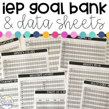 special education iep goal bank amp data sheets editable 909 | original 3295160 1