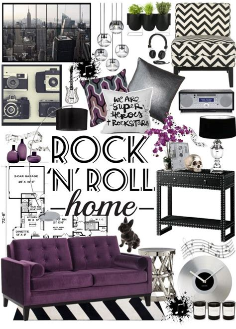 home n decor quot rock n roll home decor quot by crystal85 on polyvore