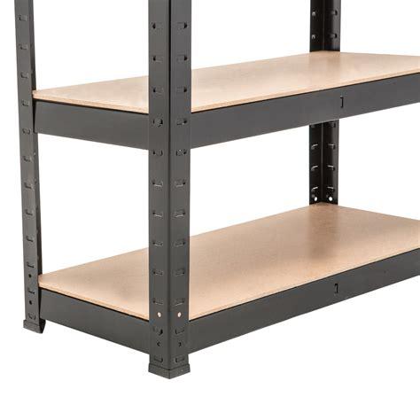 5 Tier Heavy Duty Boltless Metal Shelving Storage Unit