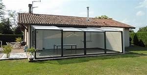 Abri De Terrasse : abri terrasse telescopique rouen design ~ Premium-room.com Idées de Décoration