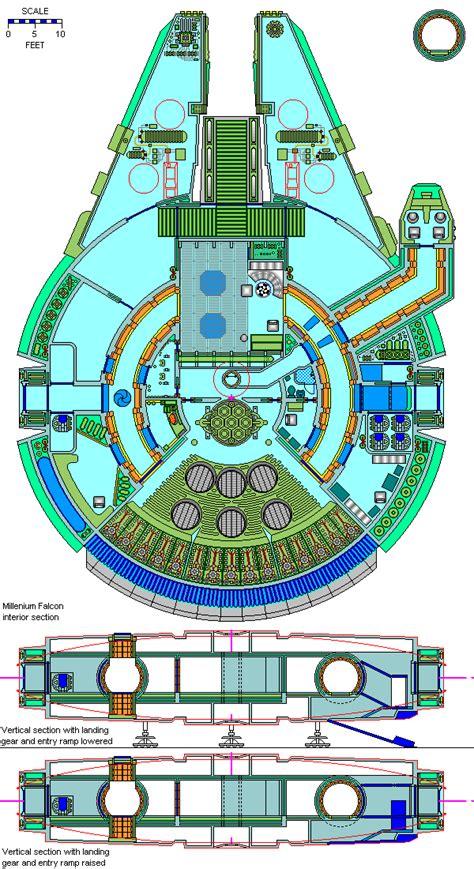 millennium deck 3 plan wars 174 deckplans alliance old ship gallery