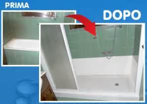 doccia al posto della vasca costi sovrapposizione vasca da bagno smaltatura