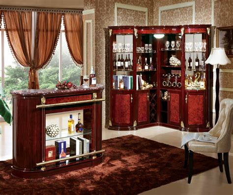 Buy Bar Furniture by Home Furniture Corner L Shape Wood Bar For Wine Display