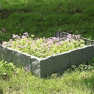 Bordure Plastique Jardin : bordures plastique pour jardin cool bordure pcs bordure ~ Premium-room.com Idées de Décoration