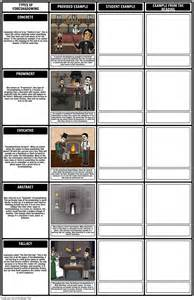 types  foreshadowing template  examples